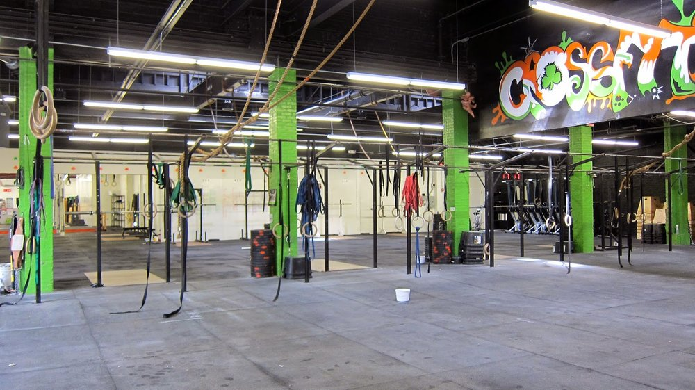Good ol' CrossFit Southie - where we sweat profusely on a daily basis