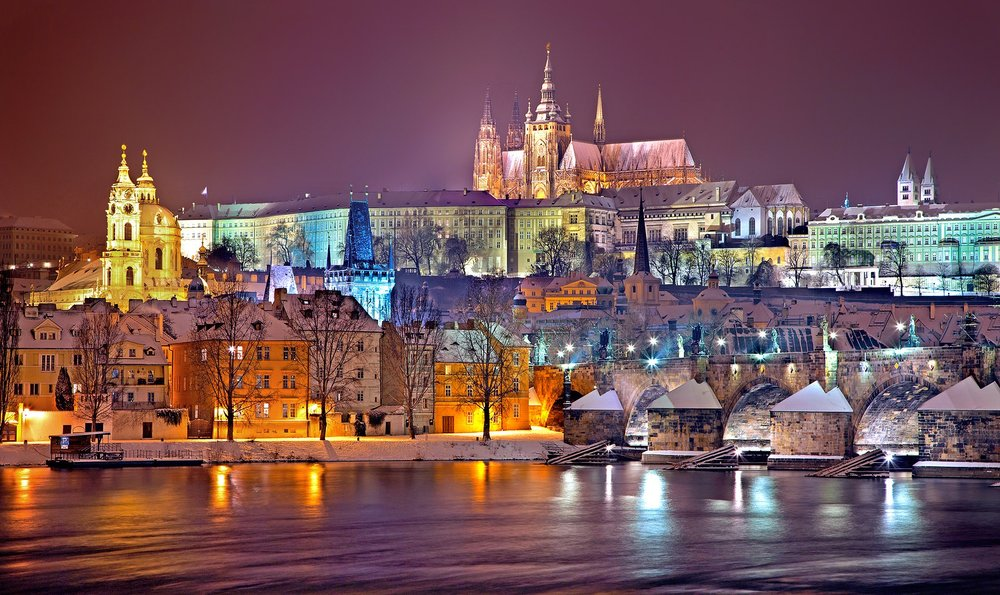 Prague Castle - oldest ancient castle in the world.