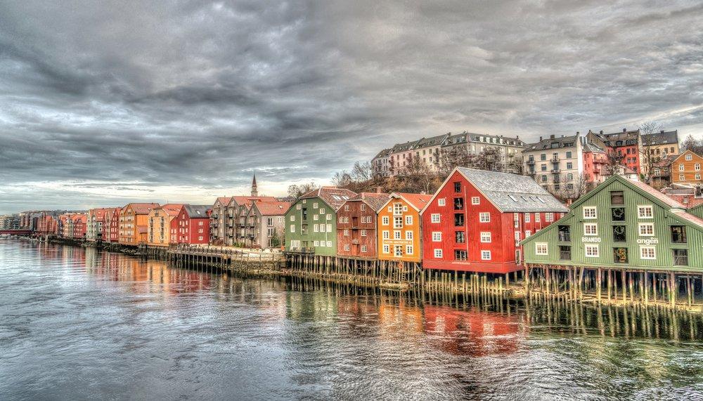 Trondheim, Norway - the beginning of my next adventure