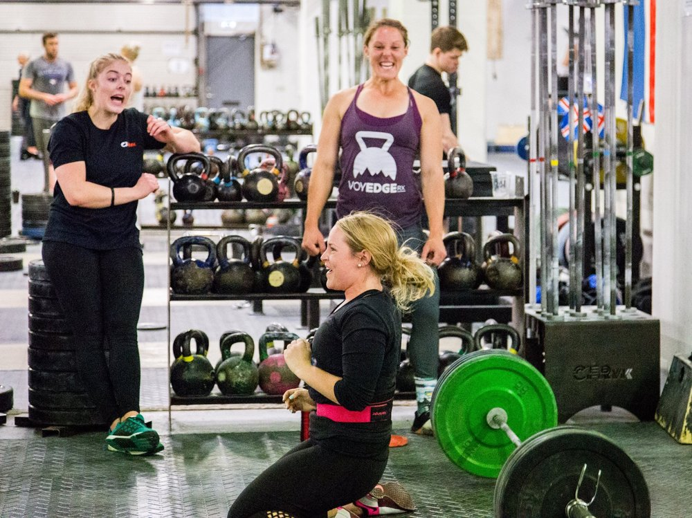 #FBF to crushing snatches in Iceland at CrossFit Reykjavik