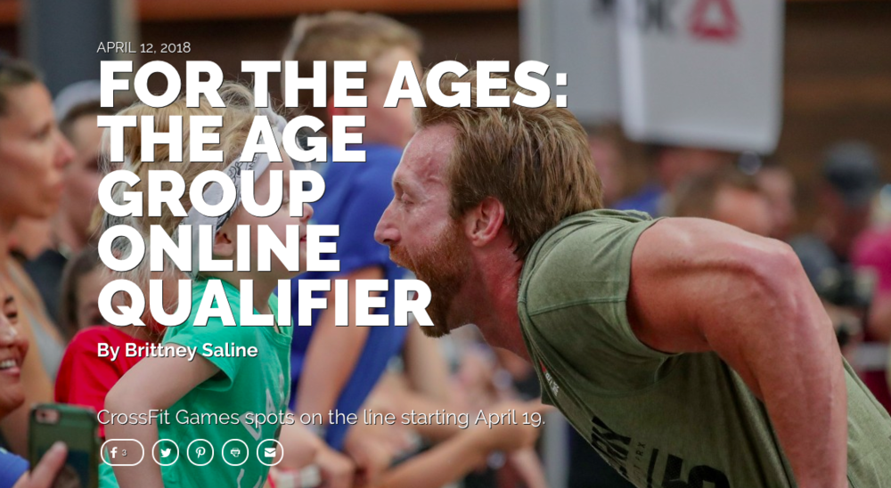 Do you have what it takes to conquer the online age group qualifier?