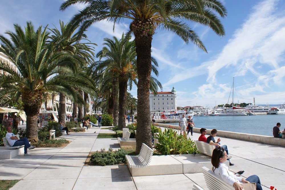 You are going to want to hang out here....Split, Croatia