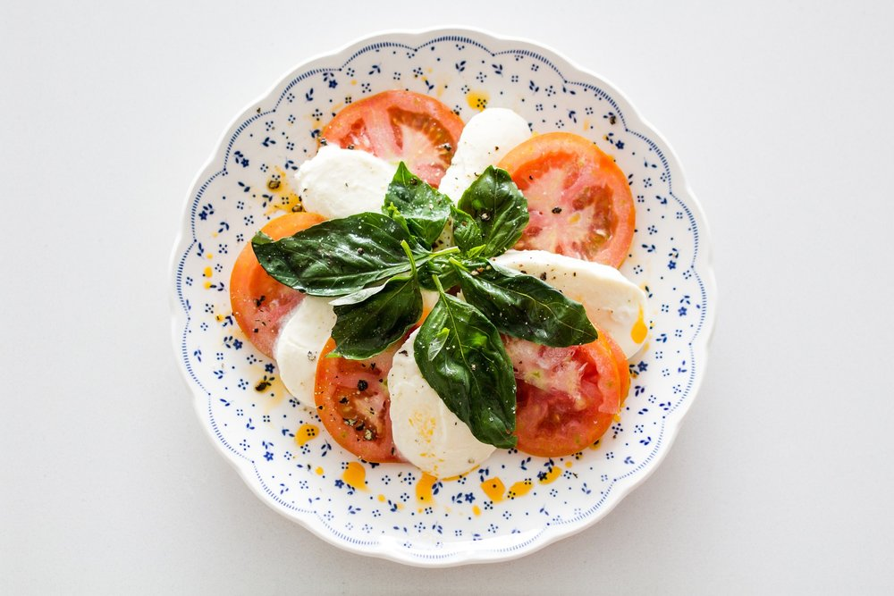 Caprese Salad made in Capri? You betcha