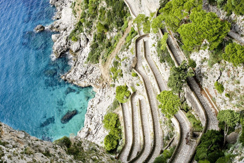 Capri, Italy only had a population of 755 people in the early 17th century