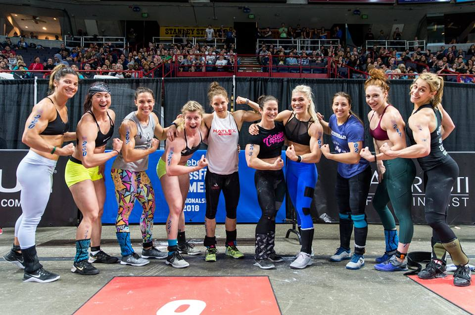 East Regionals 2018 - Courtesy of  The CrossFit Games
