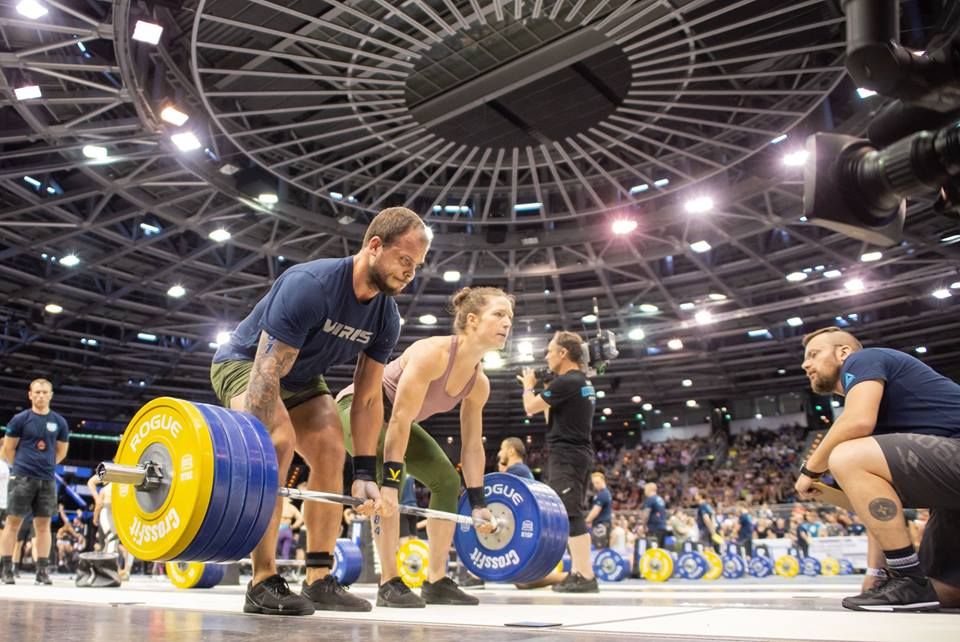 The CrossFit Games European Regional at Berlin's Velodrome - courtesy of  The CrossFit Games