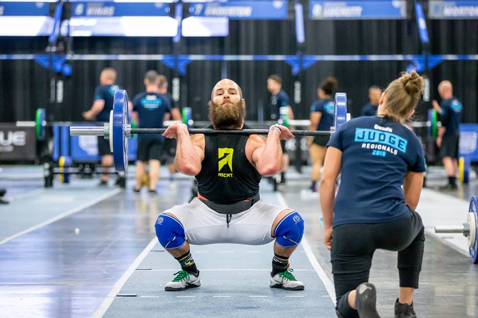 Photo courtesy of  The CrossFit Games  Regional 2018