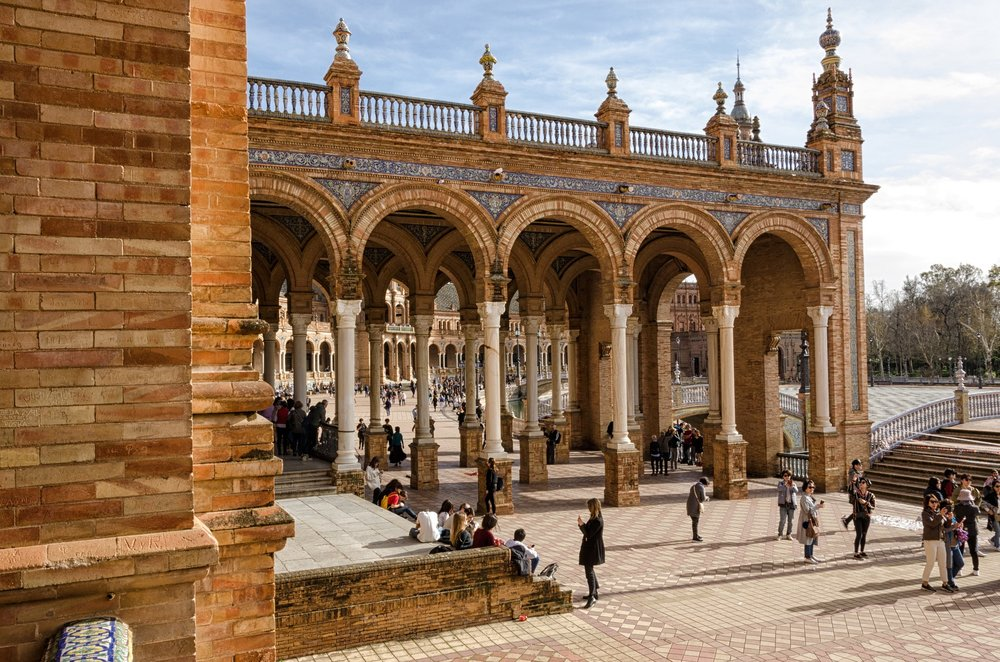 Seville, Spain. More sightseeing, architecture and excursions than you could even imagine!