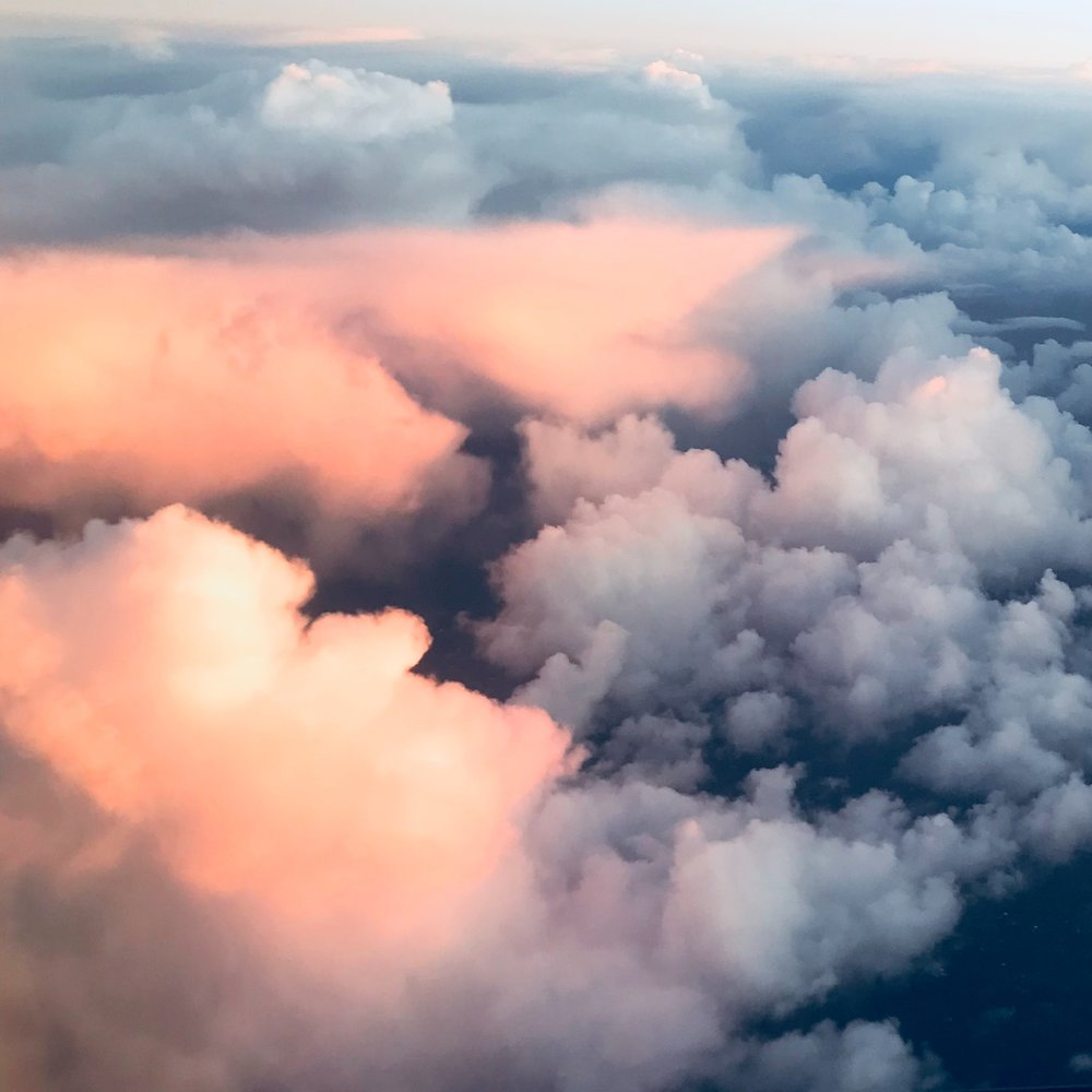 Take a nap above the clouds. But don't sleep too long. around 30-40 minutes is key.