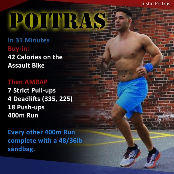 'Poitras' Hero WOD from CrossFit Southie