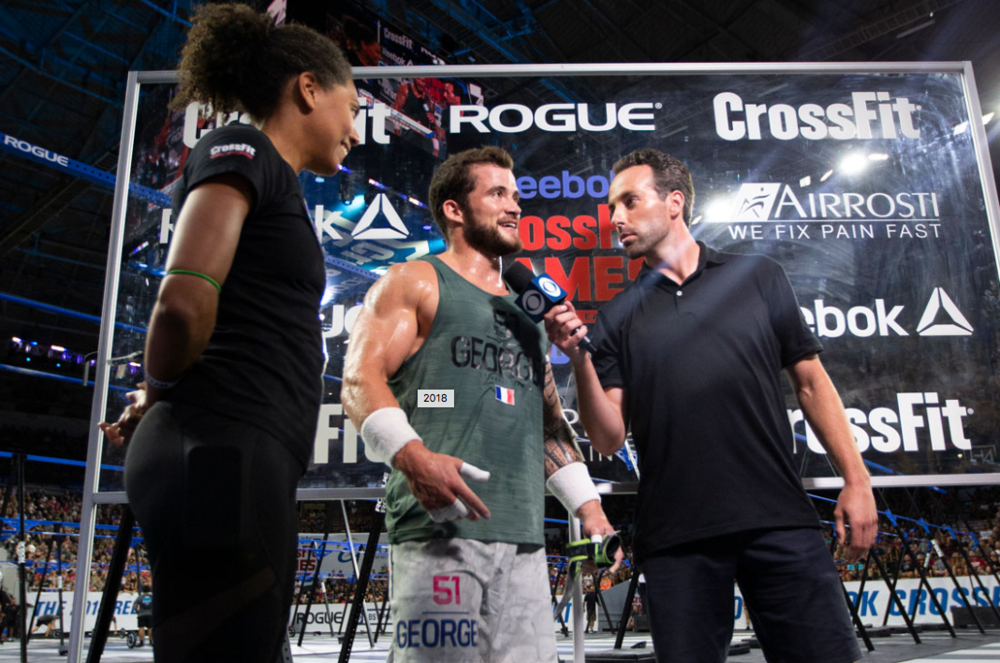 Photo courtesy of: CrossFit Inc.  Pictured: Willy Georges (France)
