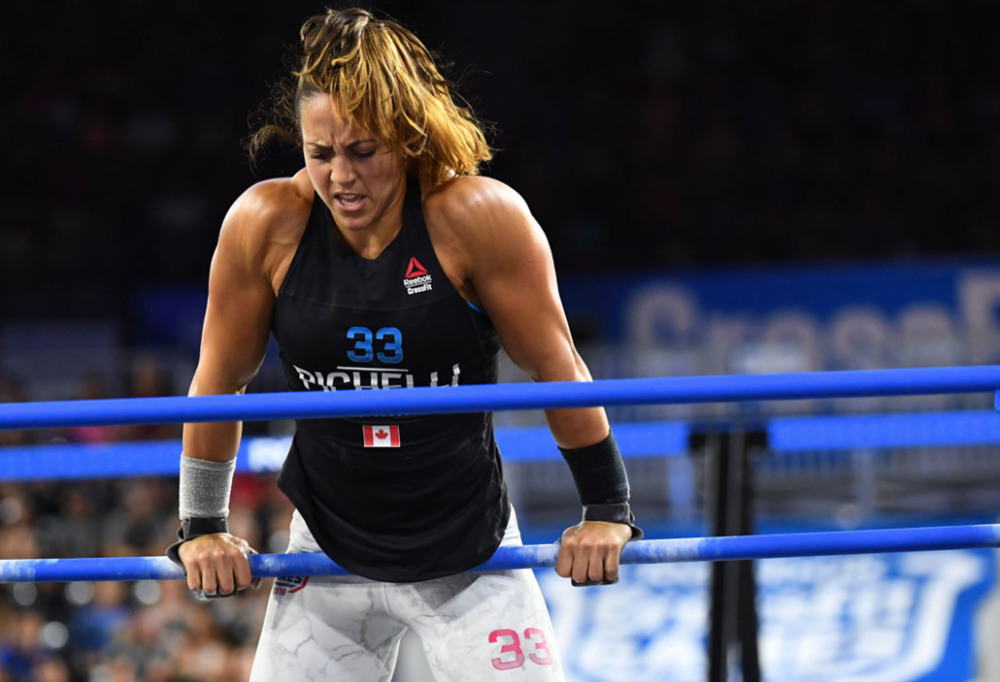 Photo courtesy of: CrossFit Inc.   Pictured: Alessandra Pichelli (Canada)