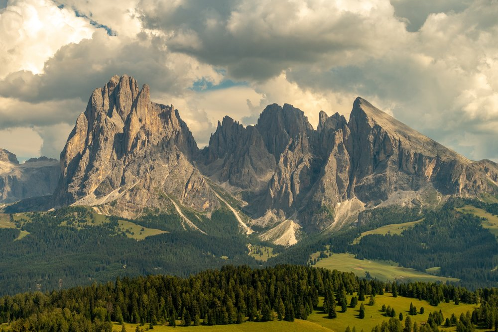 The Italian Alps, AKA The Dolomites.