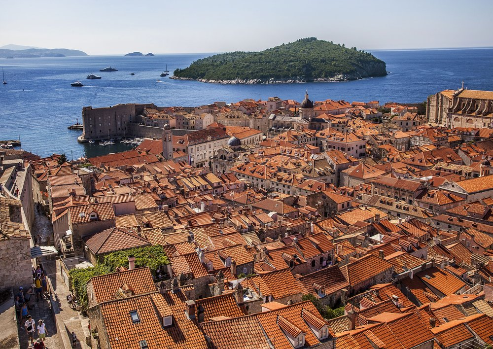 The mighty walls of Dubrovnik