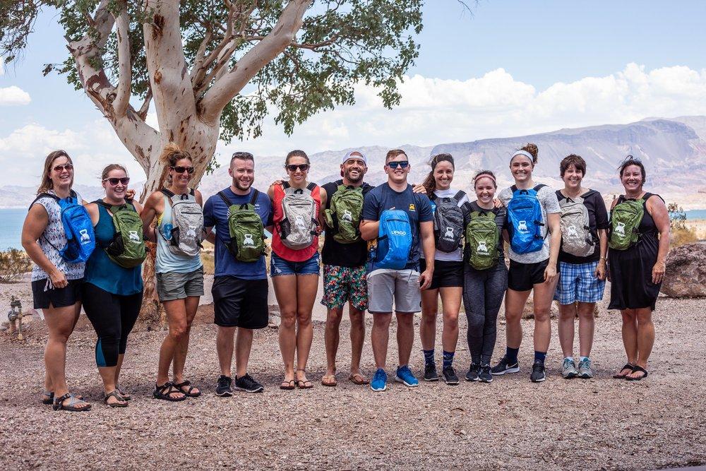 U.S. National Parks crew 2018