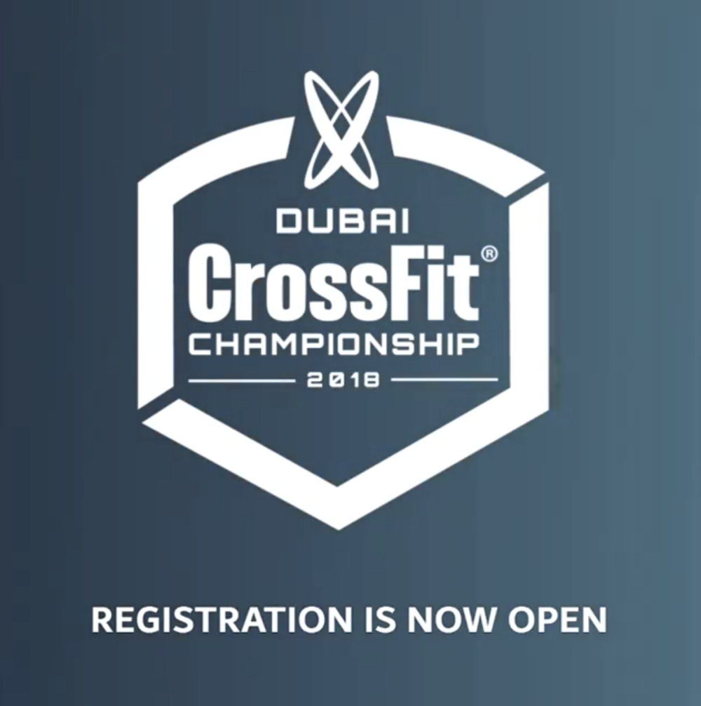 Crossfit Games Update Dubai Invitations Accepted Voyedge Rx