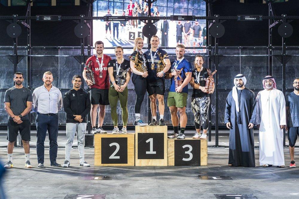 Cover photo: Courtesy of Dubai CrossFit Championship