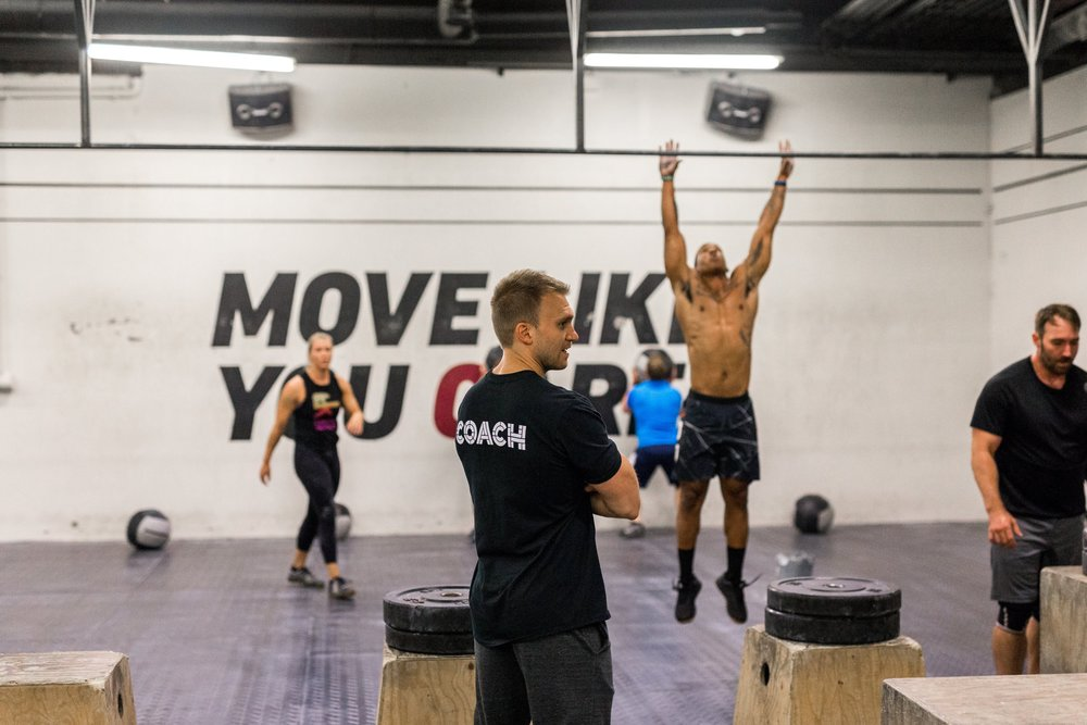 The coaches at CrossFit Reykjavik are great