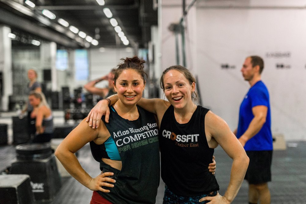Smile, laugh, and also lift a ton of weight