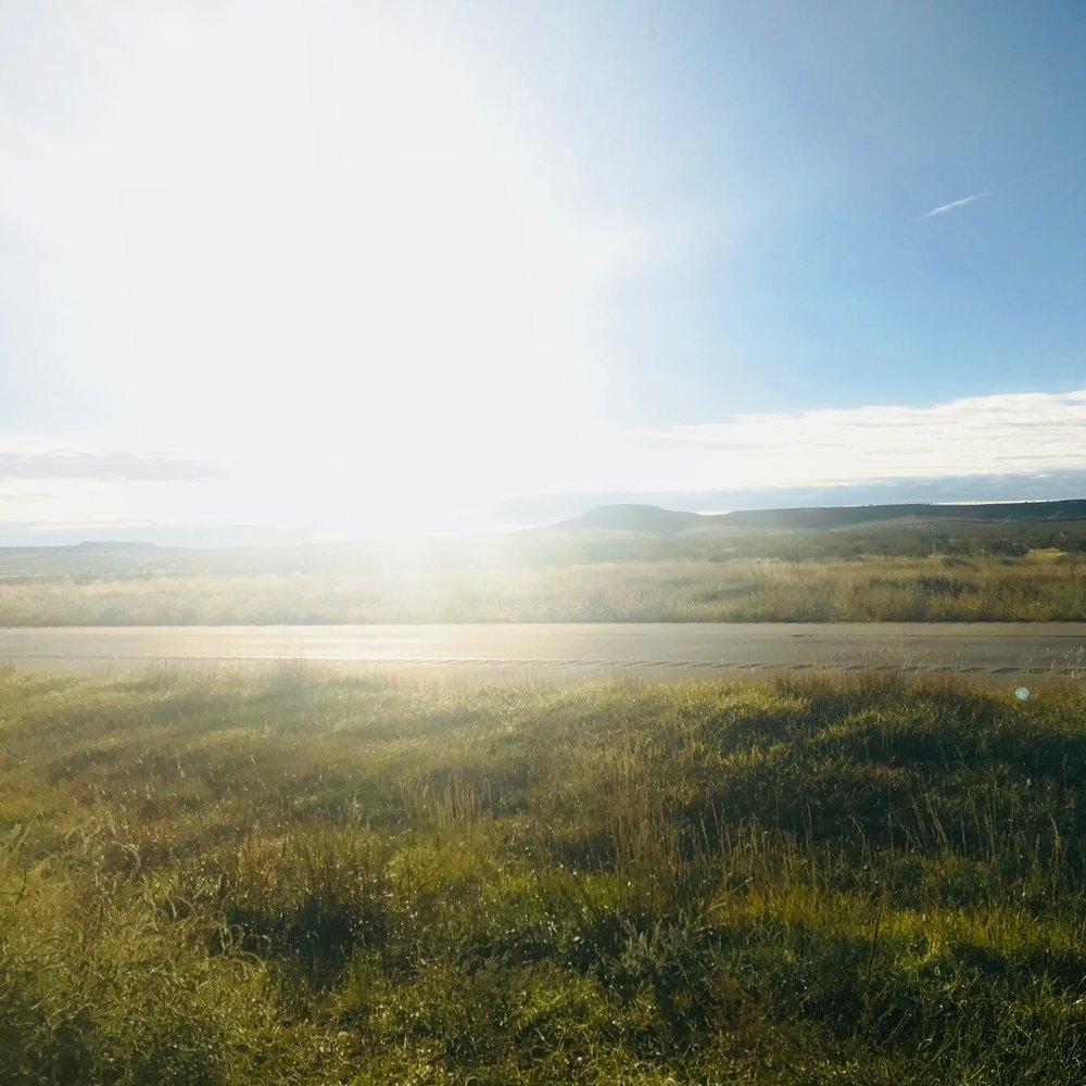 Racing the sunrise! Amarillo, TX