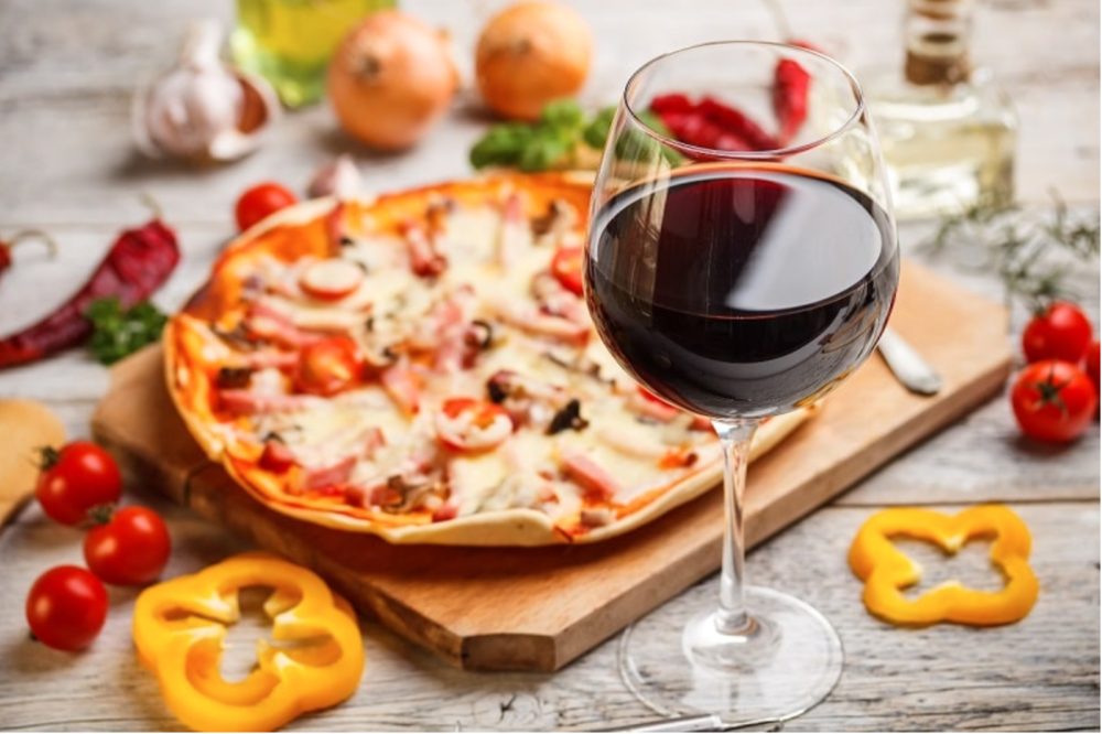 What should you eat with red wine?