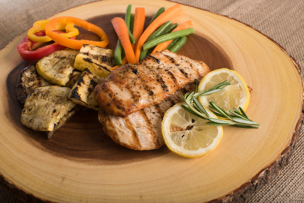 Healthy proteins, veggies and a regular fitness routine will keep you on the right track!