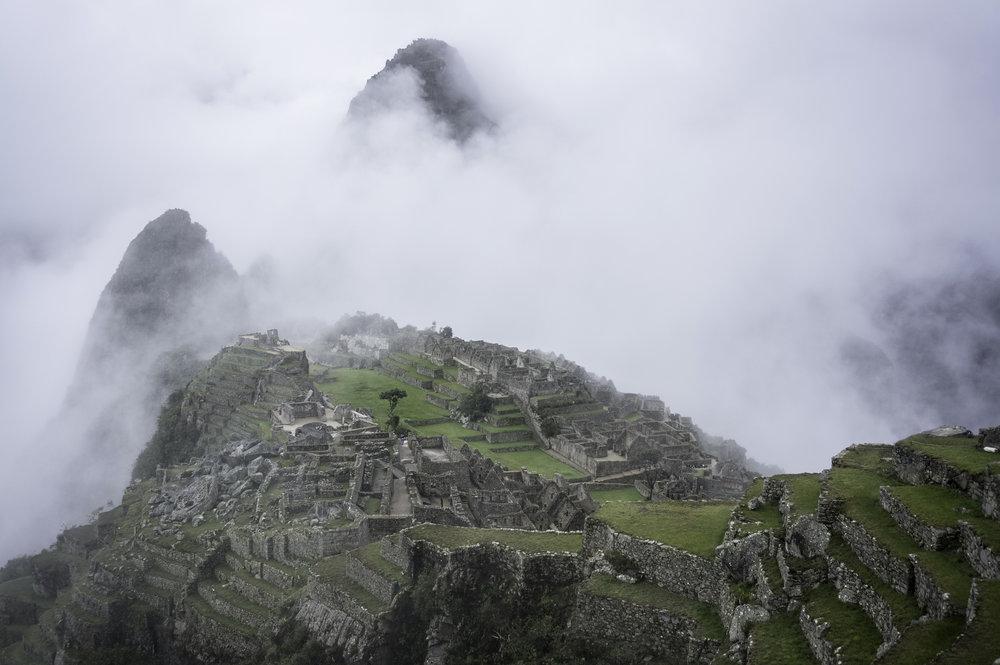 Machu Picchu at 6 am