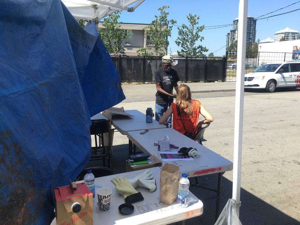 Surrey Pop Up Safe Injection Site - July 27, 2016 (1).JPG