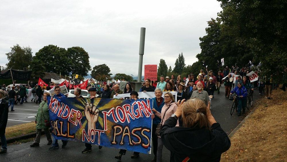 Kinder Morgan, We Say No! March & Rally on Saturday, September 9, 2017 (2).jpg