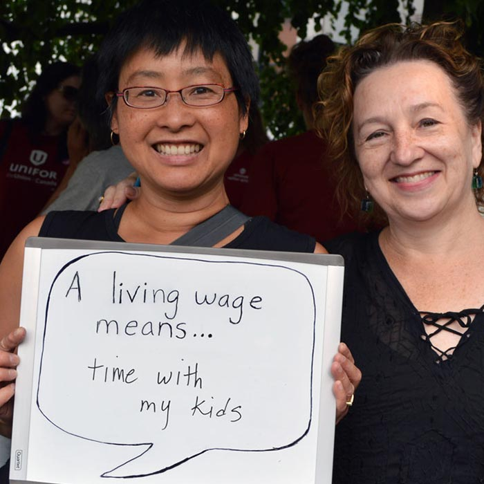 Living Wage - Mininum Wage - Living Wage means time with my kids - 700x700.jpg