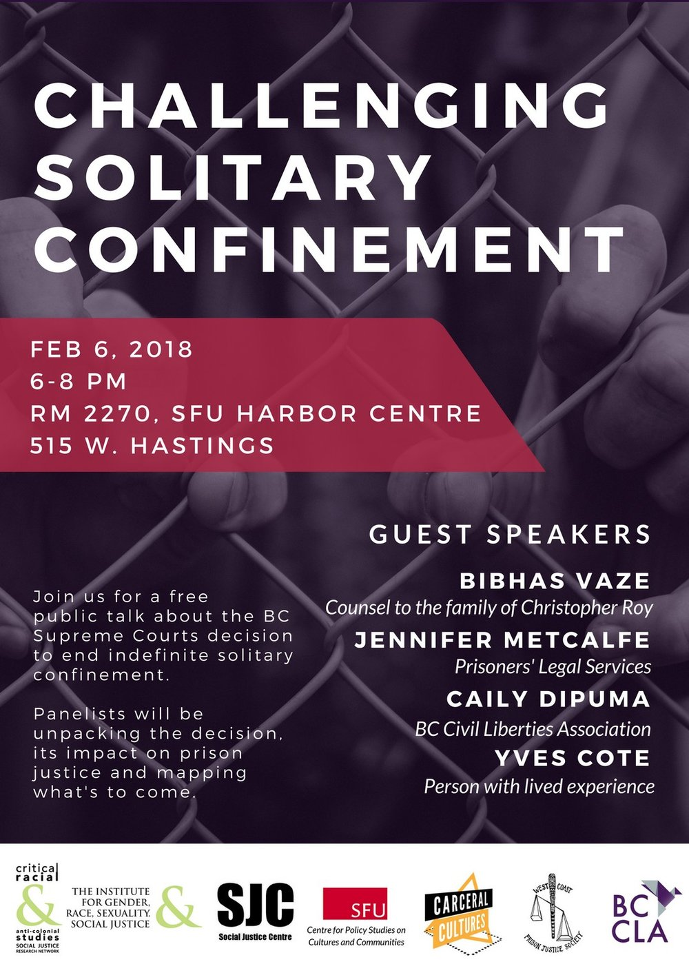 Solitary Confinement Poster - Public Talk - Feb 6 2018 - small.jpg