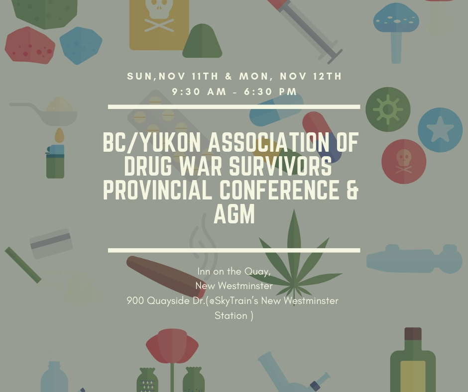 BCYADWS Conference and AGM - November 11 & 12, 2018, 9:30 - 6:30