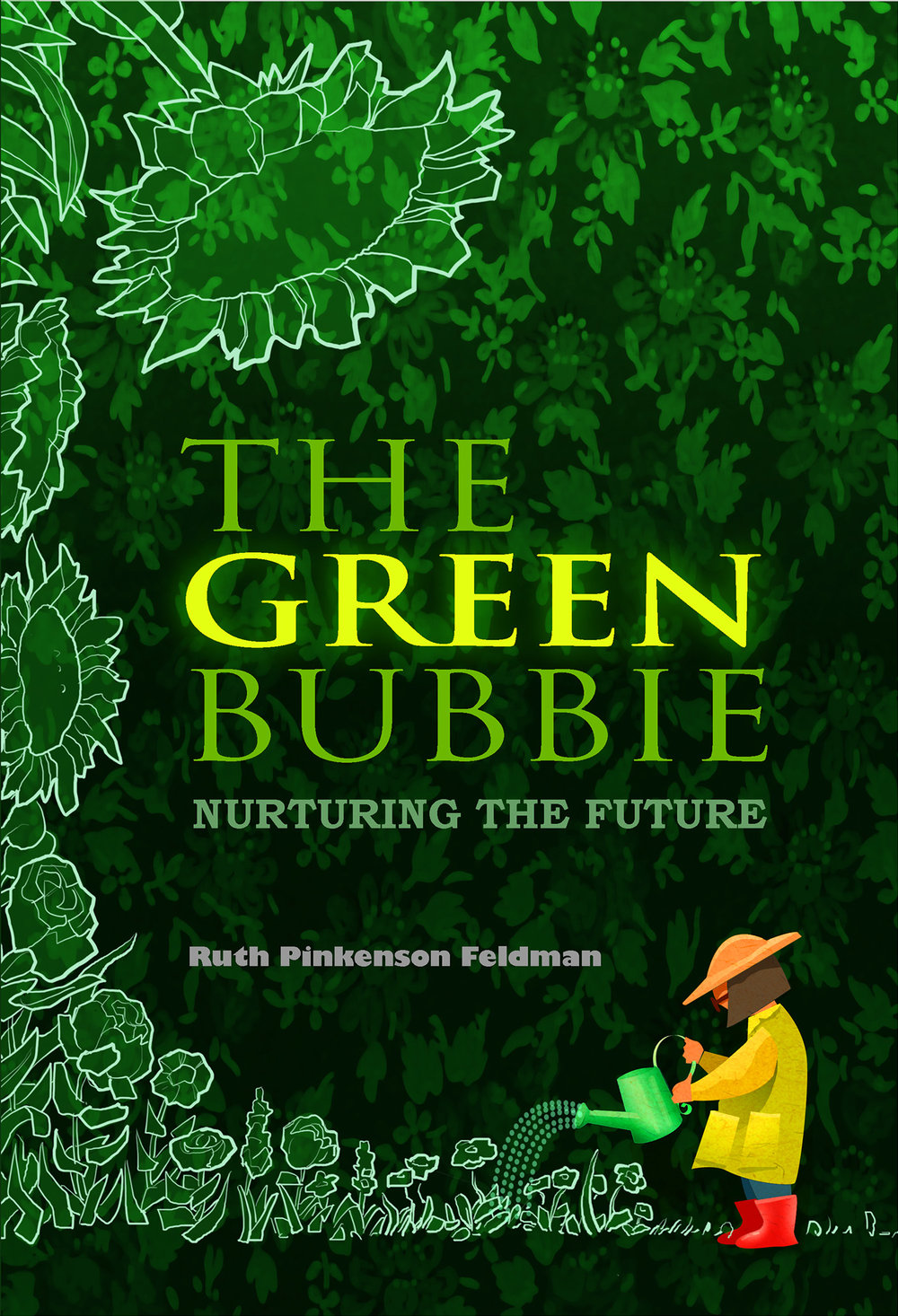 Green Bubbie Cover Book Cover, Daliya Publishing, 2014