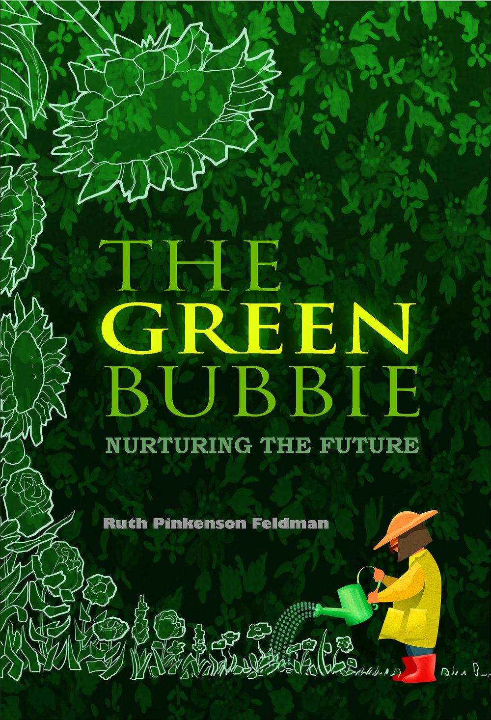 Green Bubbie Cover Book Cover, Daliya Publishing, 2014