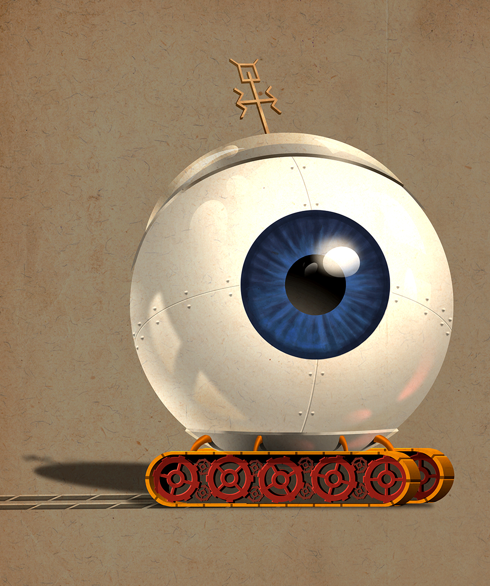 BIG EYE ROBOT