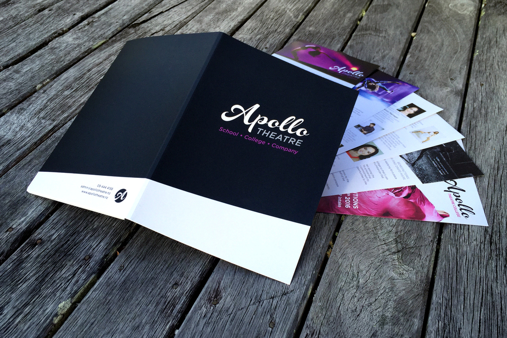 A5 folder and flyer pack