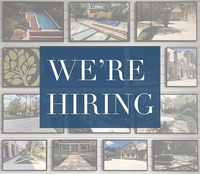 It's that time of year again! We're looking to expand our team of motivated, hard working individuals. If you are interested in working with us to create spectacular landscapes then DM us or email your resume to info@parkscape.ca. Look forward to seeing what the Instagram community has to offer! #joinourteam #hiring #construction #landscaping #landscapetoronto #landscapingthe6ix #stonework #planting #concrete #highend #custom