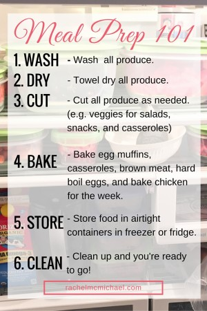 Meal Prep How-To