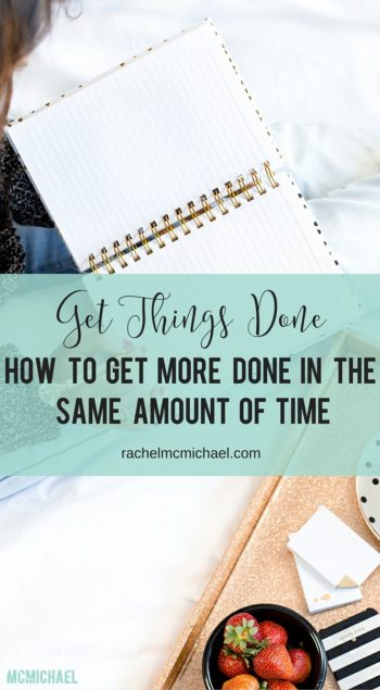 Do you feel like you never have enough time to do it all? Are you leaving time on the table? This is one of my best tips for how to find more time in your day and how to get things done!