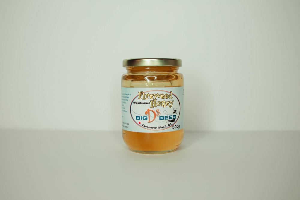 500g Fireweed Honey - $8.00