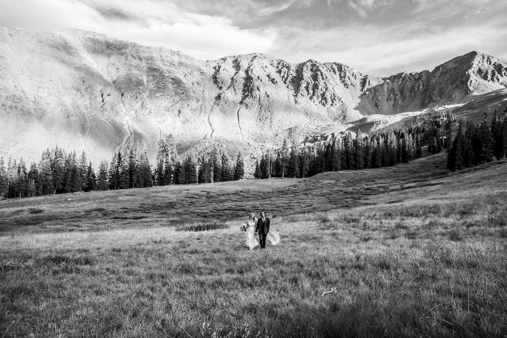 - Shannon & Joel | Arapahoe Basin Wedding