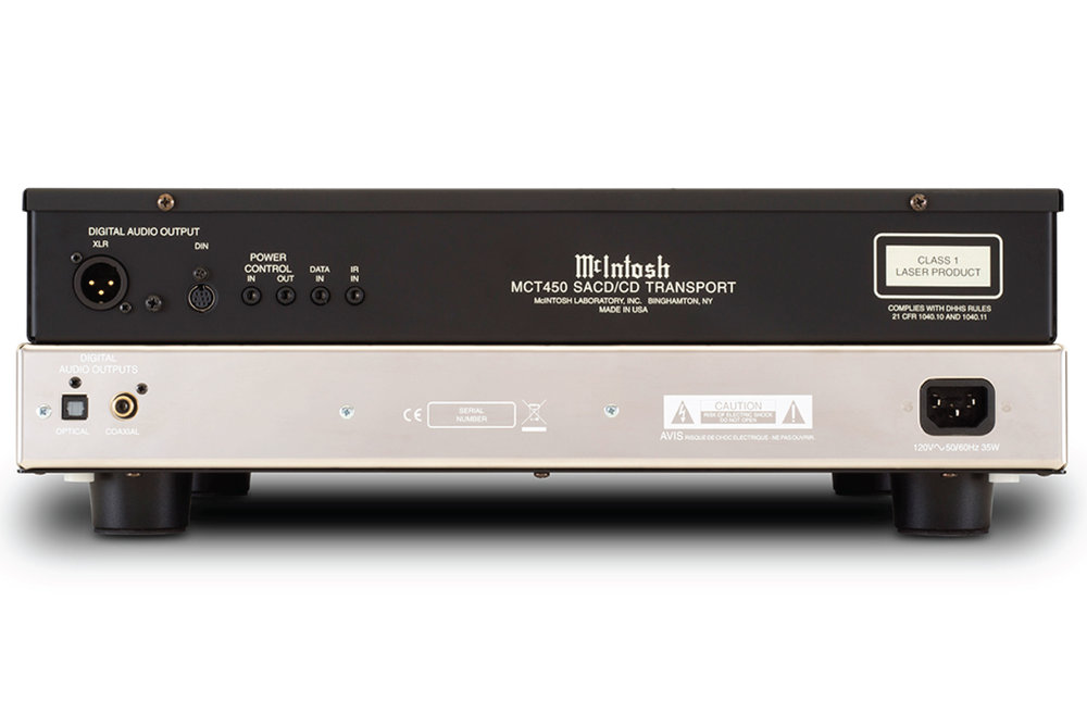 Mặt sau McIntosh MCT450 CD/SACD Transport