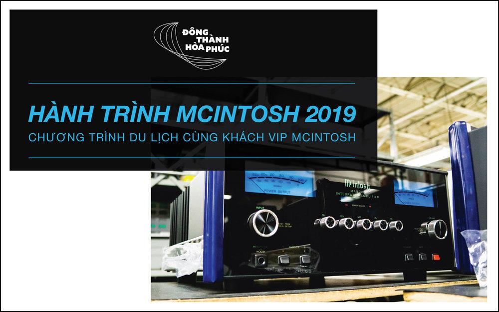 HÀNH TRÌNH MCINTOSH 2019