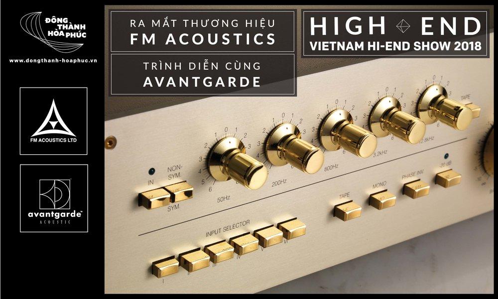 FM Acoustics Vietnam Highend Show 2018