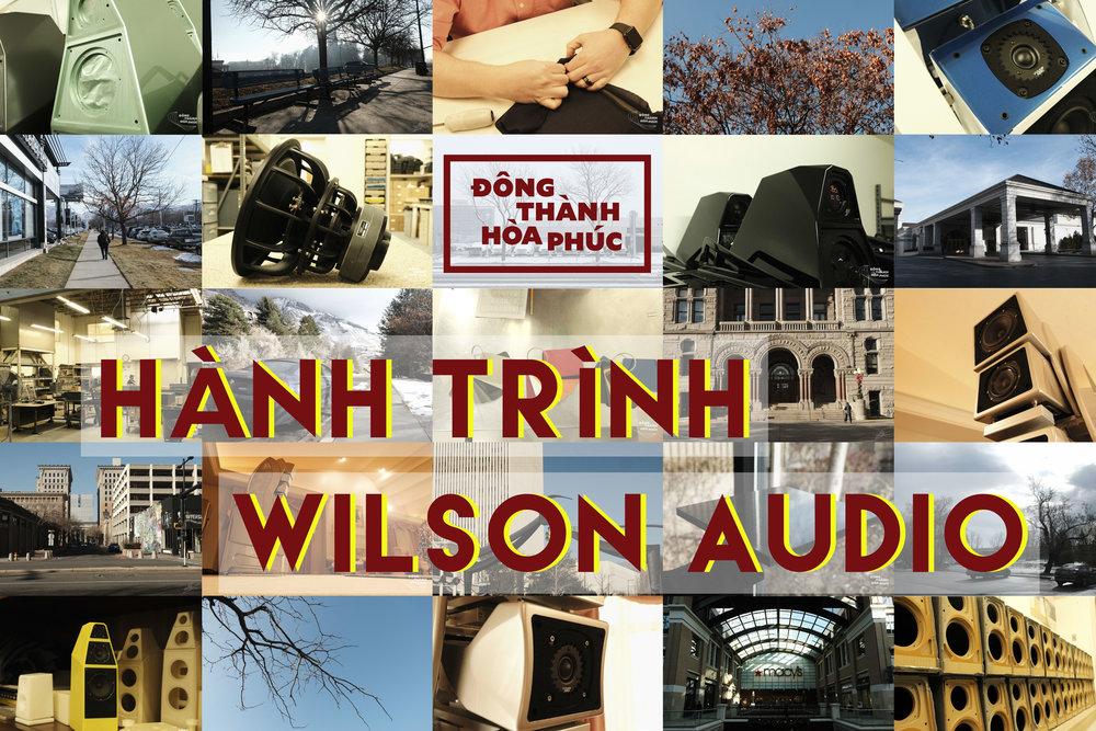 Hành Trình Wilson Audio Đông Thành - Hòa Phúc