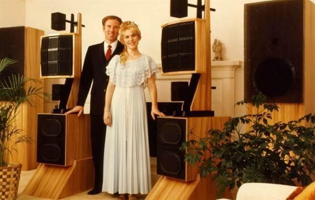 David Wilson và Sheryl Lee chụp ảnh trước huyền thoại WAMM (1981).