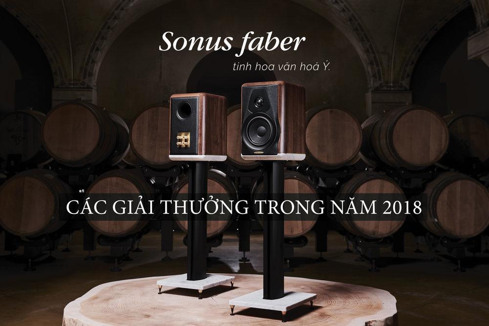 Loa Sonus Faber Giải Thưởng Đông Thành - Hòa Phúc 2018