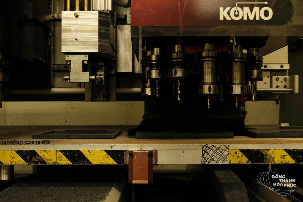 Máy khoan công nghiệp của Wilson Audio