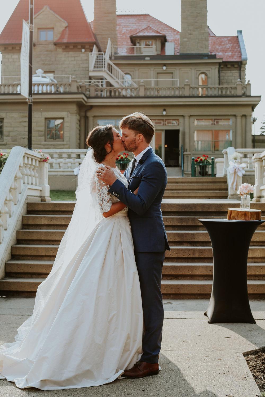 ULANA AND JERAD'S WEDDING      THE LOUGHEED HOUSE IN CALGARY, CANADA