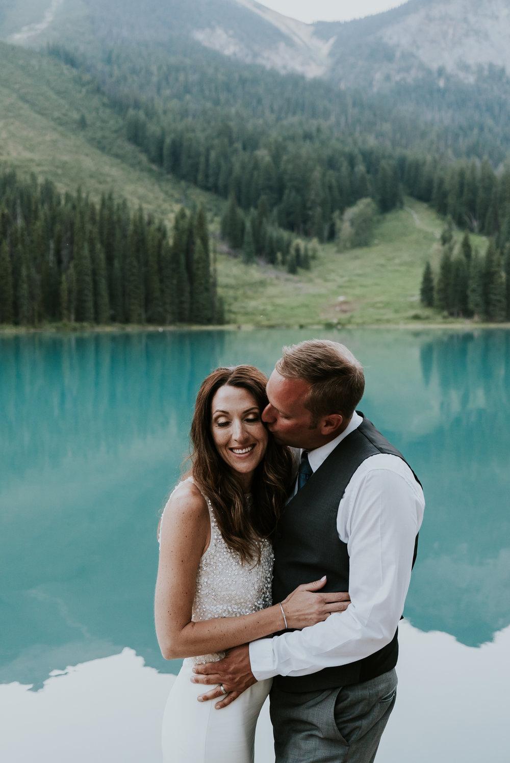 raquel and sean's wedding    emerald lake lodge, yoho national park, canada